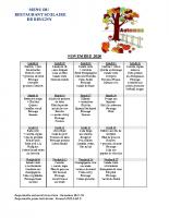 menu NOVEMBRE 2020