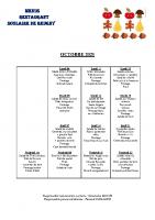 menu OCTOBRE 2021