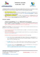 Modalites inscriptions 2021-2022 TRANSP SCOL